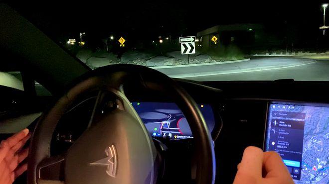 印象深刻!车主亲测特斯拉FSD Beta V9纯视觉系统